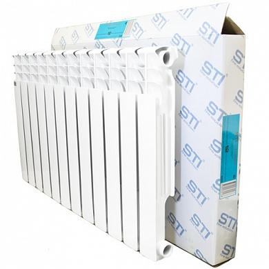 Алюминиевый радиатор STI 500 80 12 секций по оптовой цене в г. Тула